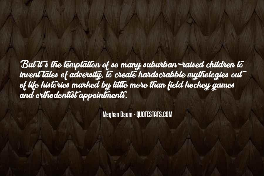Quotes About Temptation And God #31957