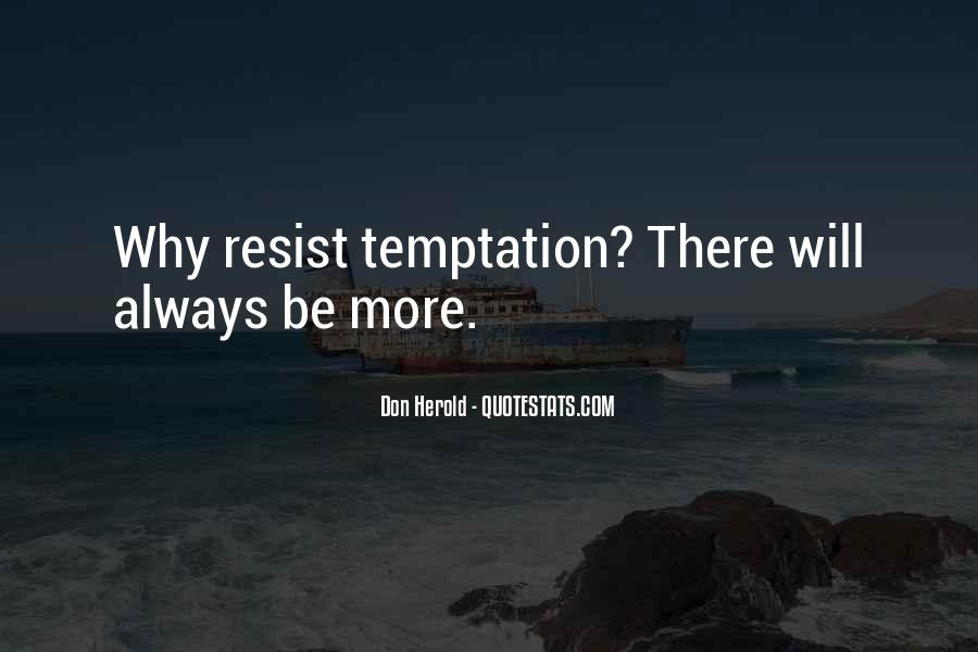 Quotes About Temptation And God #47703