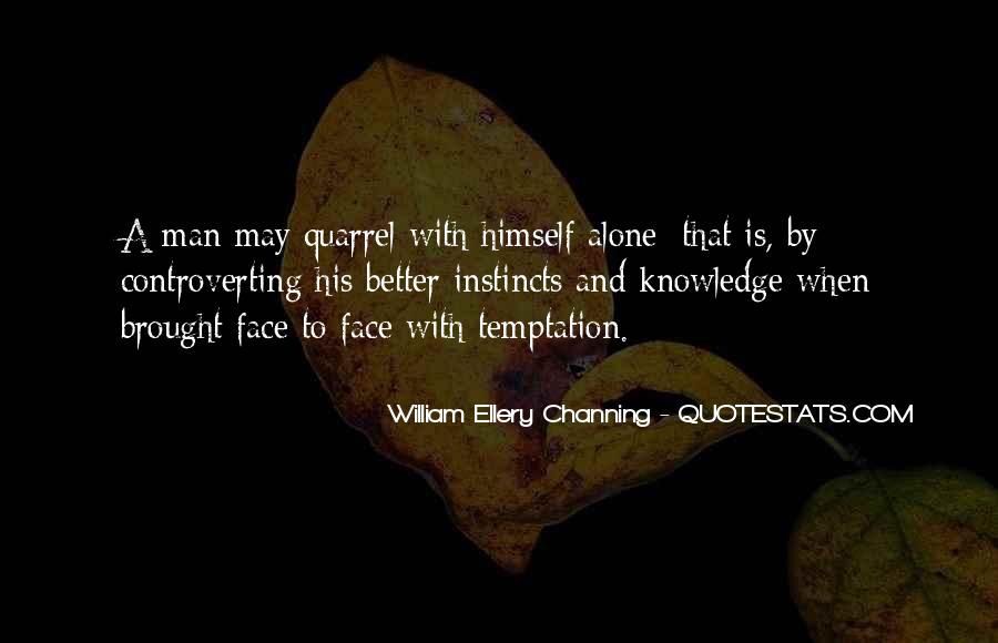 Quotes About Temptation And God #49765