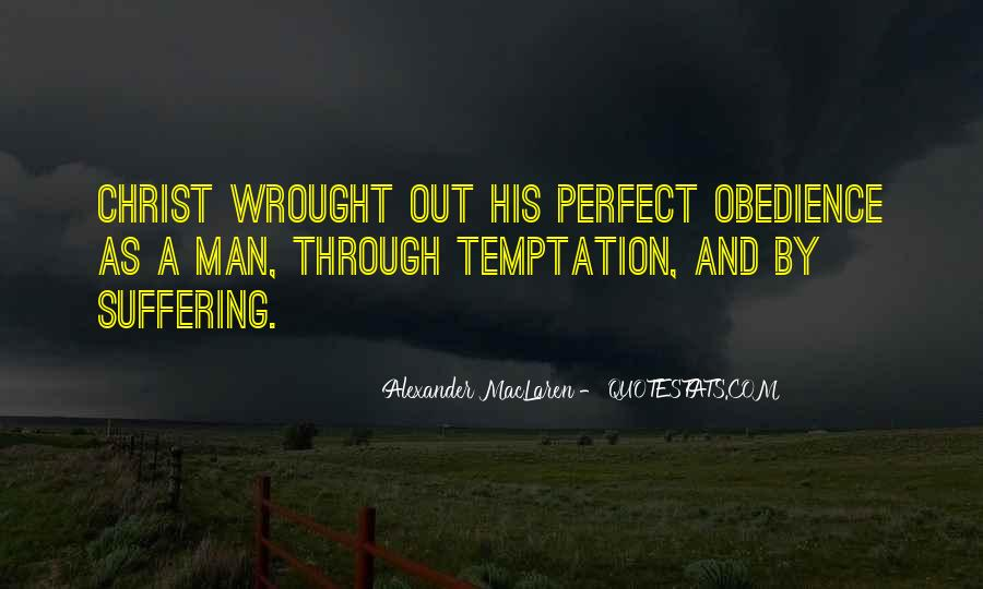 Quotes About Temptation And God #52598
