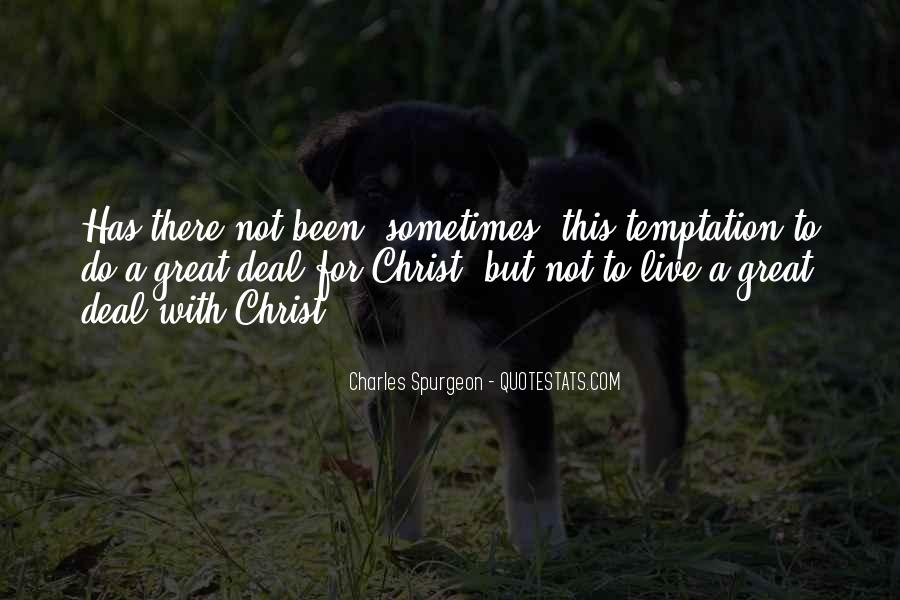 Quotes About Temptation And God #56359