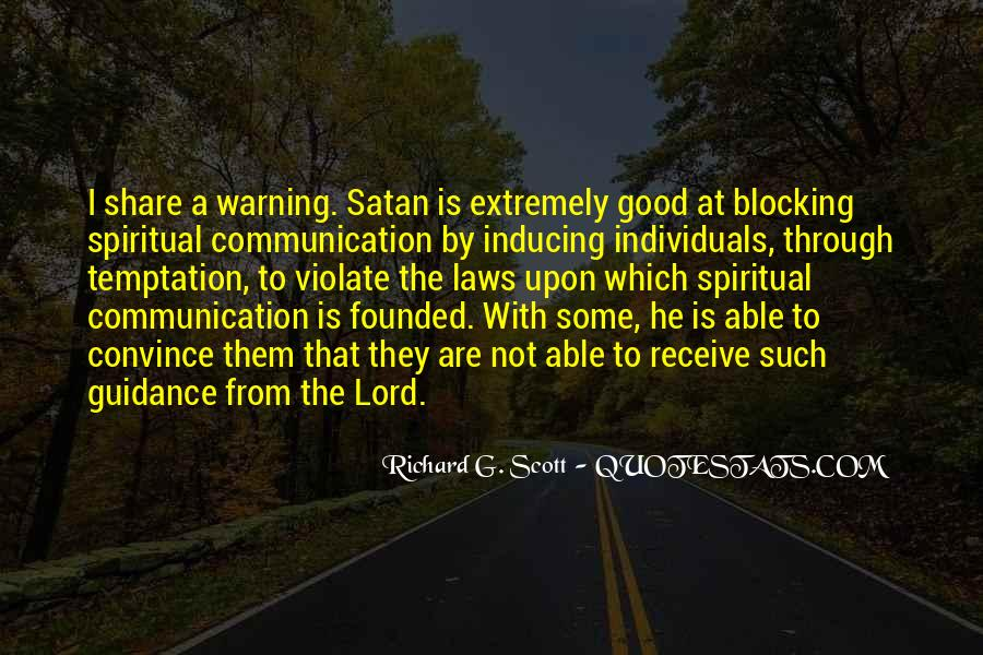 Quotes About Temptation And God #85480