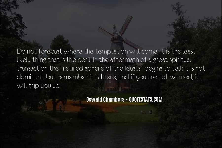 Quotes About Temptation And God #90847