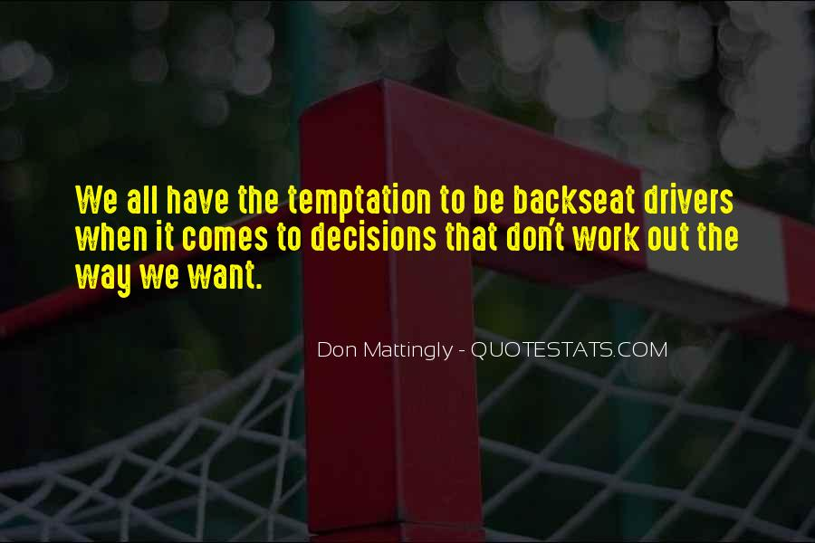 Quotes About Temptation And God #94904