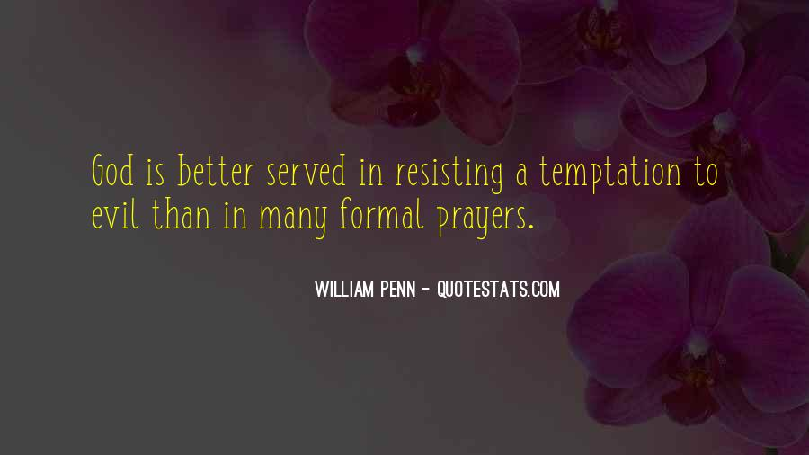Quotes About Temptation And God #9558