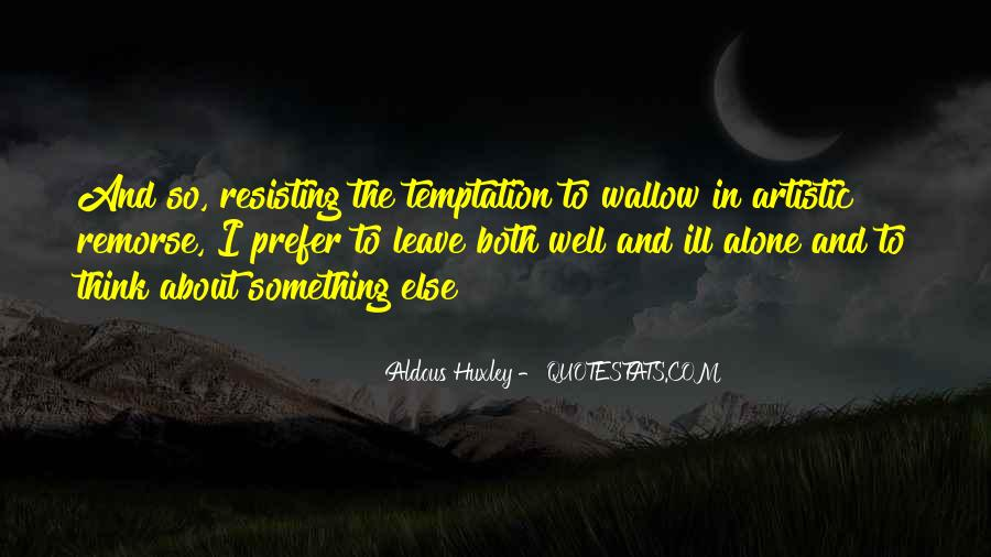 Quotes About Temptation And God #97806