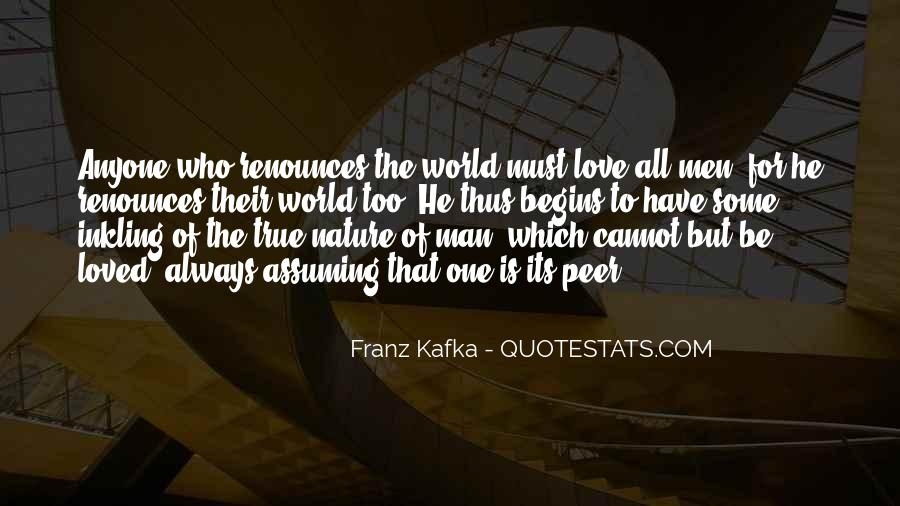 Quotes About The True Nature Of Man #782760
