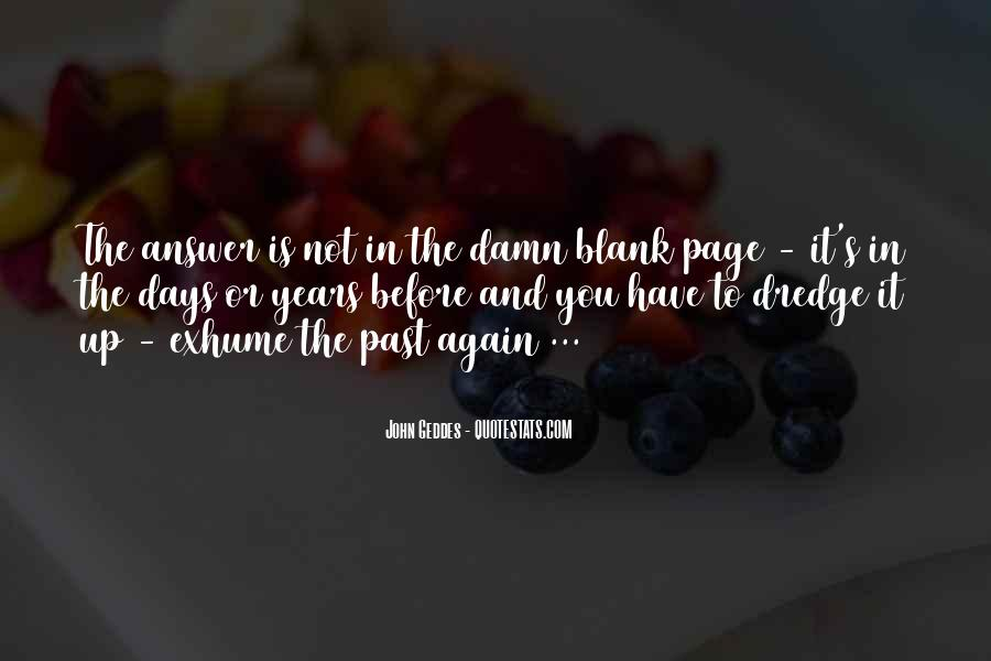 Quotes About Blank Page #1037205