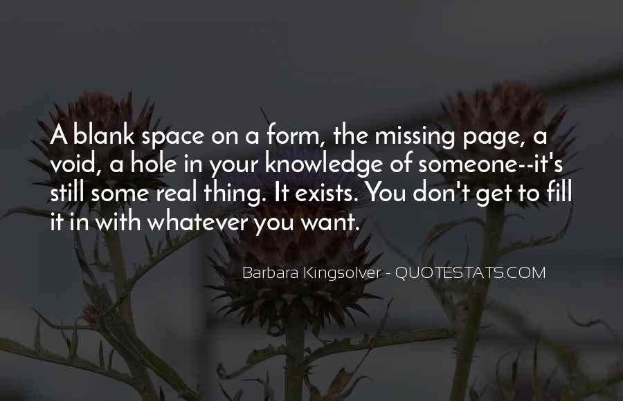 Quotes About Blank Page #106059