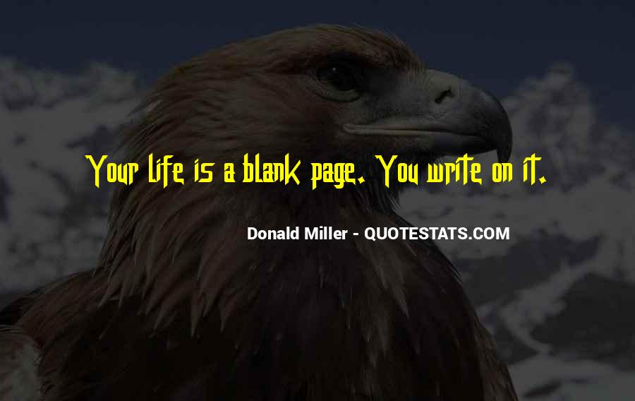 Quotes About Blank Page #1186892