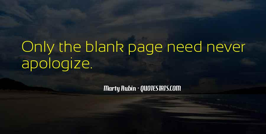 Quotes About Blank Page #1187818