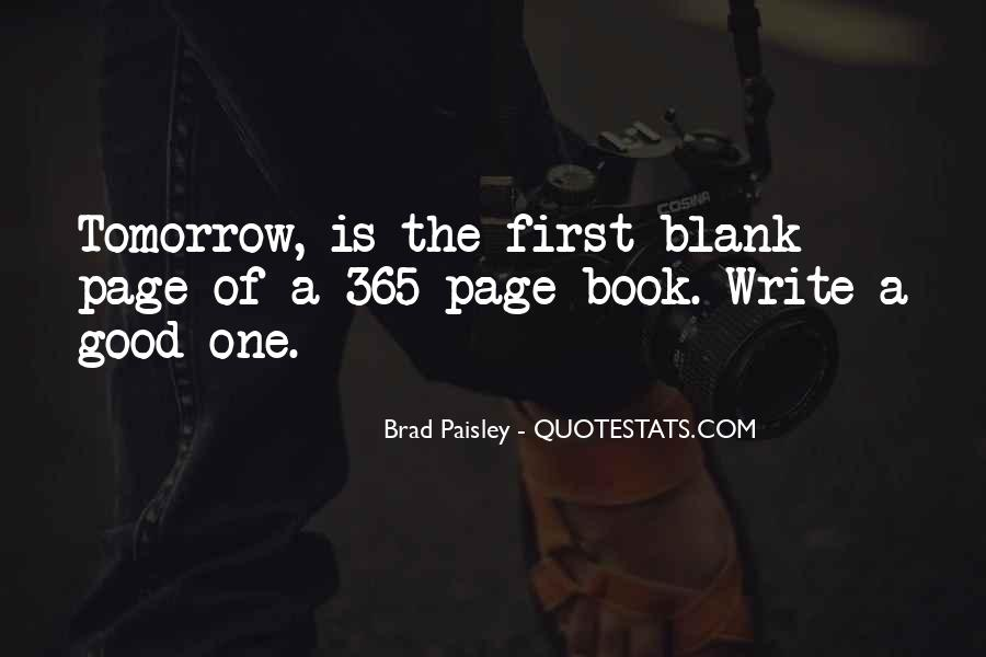 Quotes About Blank Page #170589