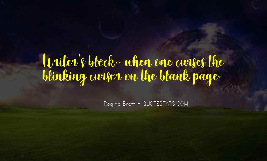 Quotes About Blank Page #179262