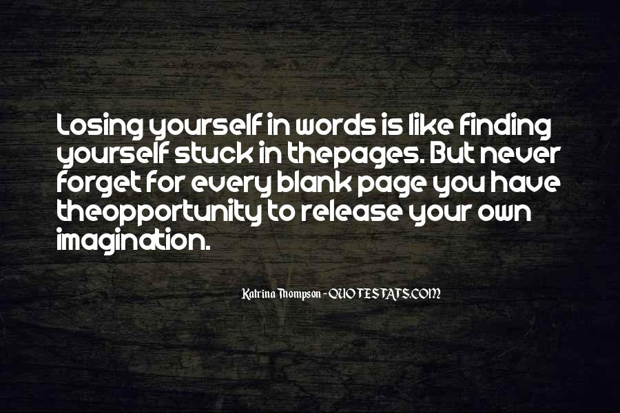 Quotes About Blank Page #210223