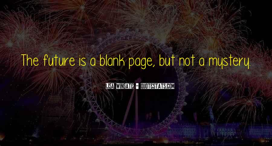Quotes About Blank Page #215880