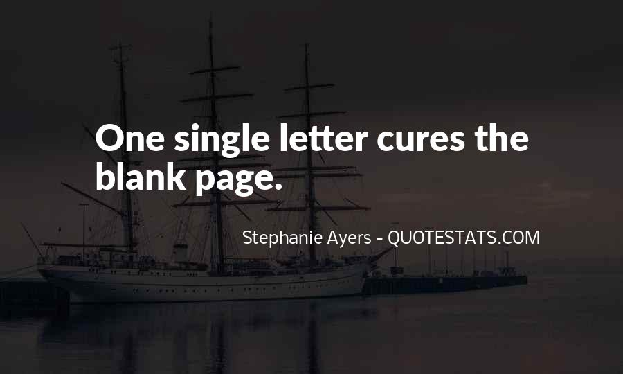 Quotes About Blank Page #247517