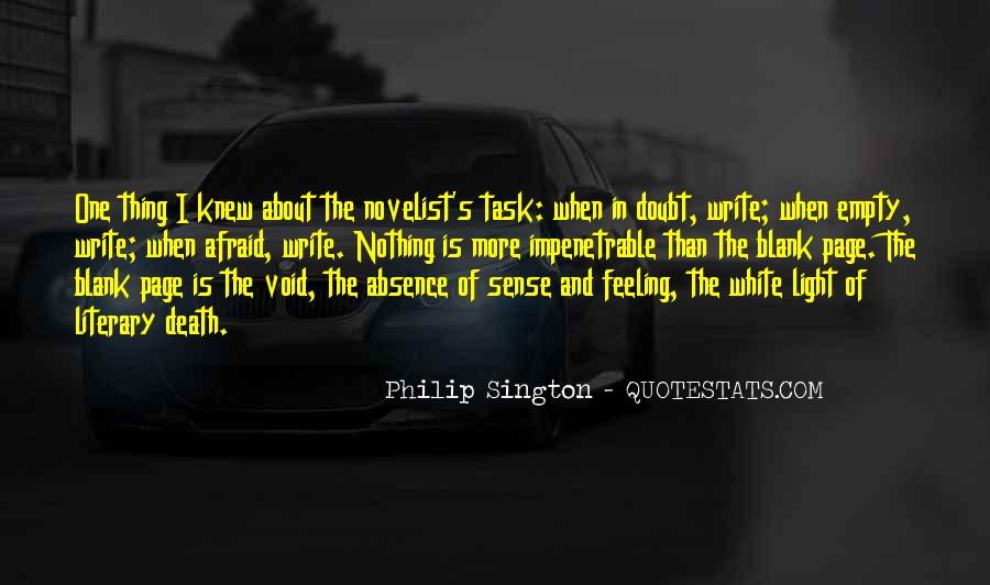 Quotes About Blank Page #258128