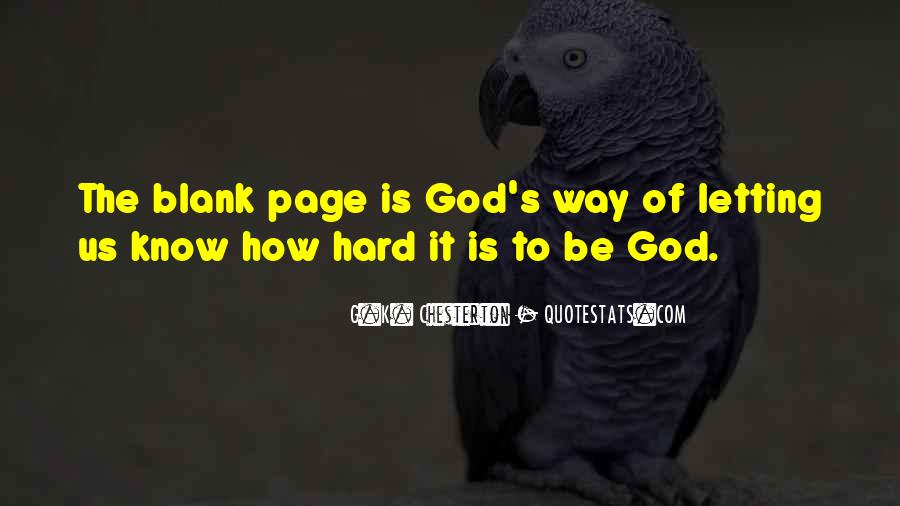 Quotes About Blank Page #312122
