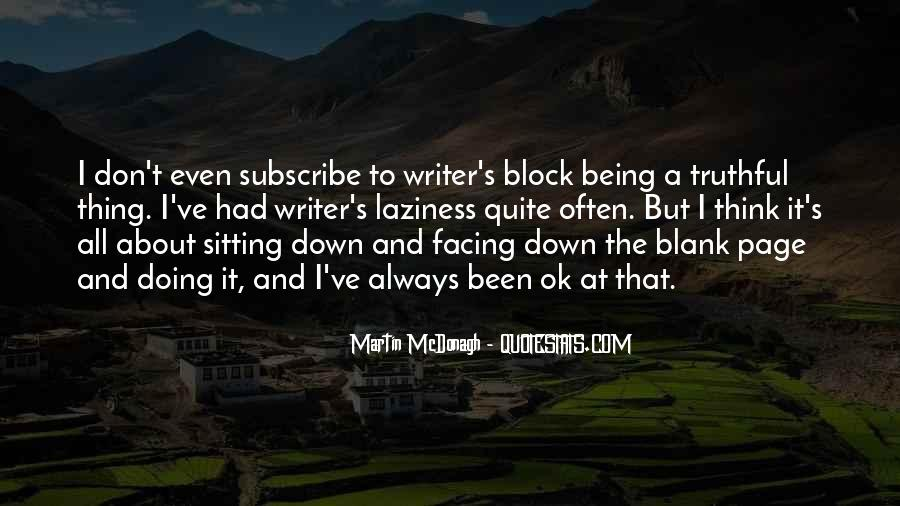 Quotes About Blank Page #439637
