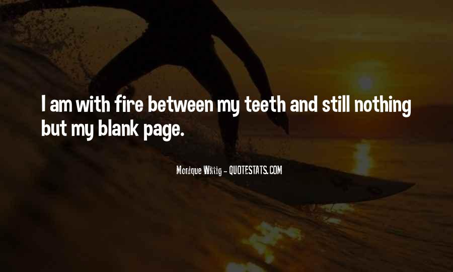 Quotes About Blank Page #531899