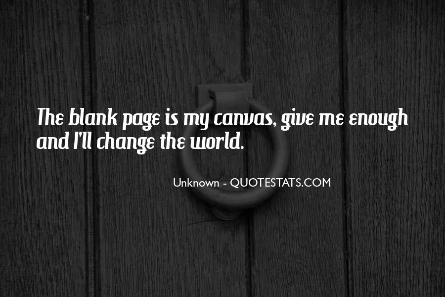 Quotes About Blank Page #559095