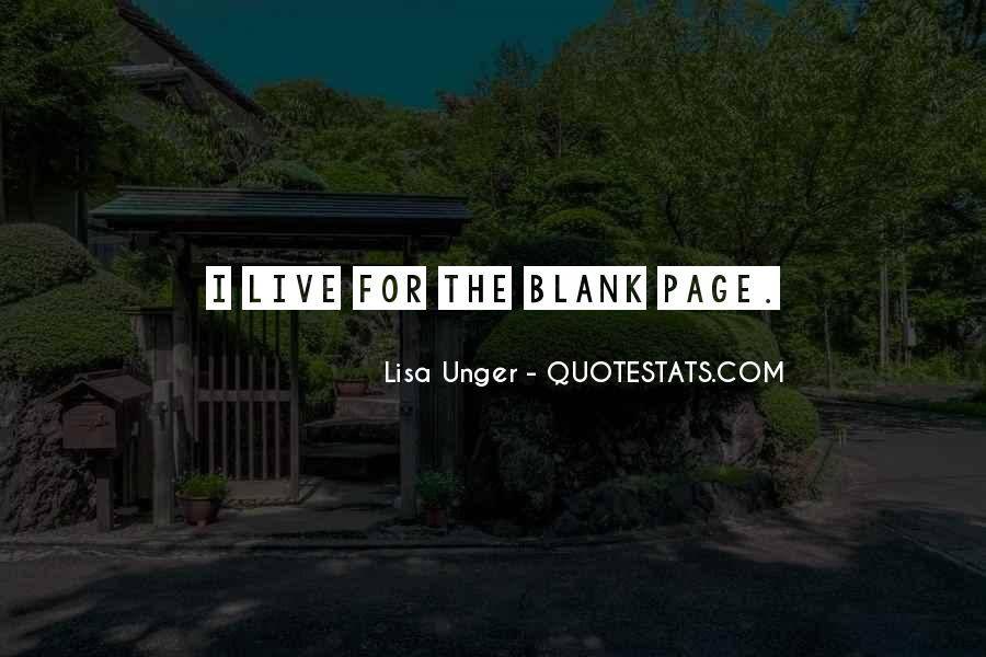 Quotes About Blank Page #571061