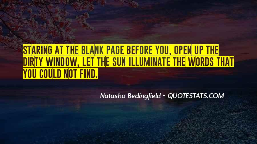 Quotes About Blank Page #624030