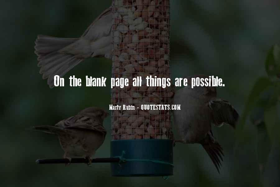 Quotes About Blank Page #652065