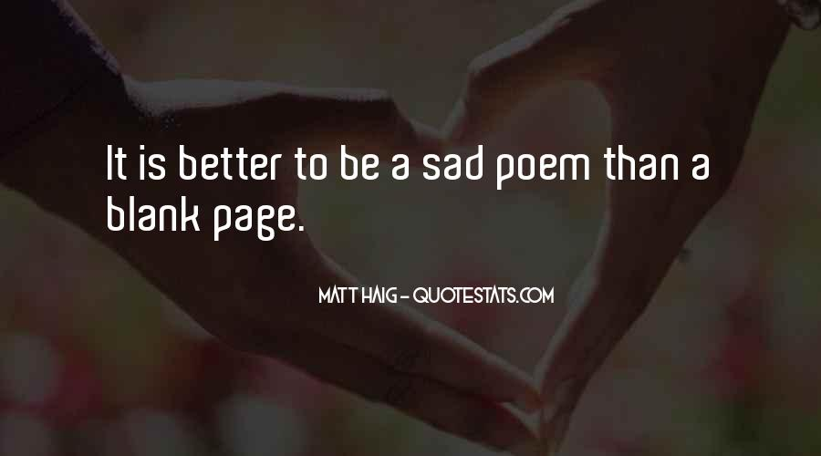 Quotes About Blank Page #654793