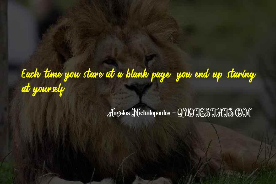 Quotes About Blank Page #677208
