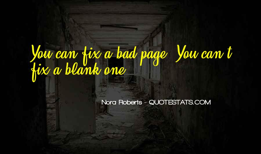 Quotes About Blank Page #806628