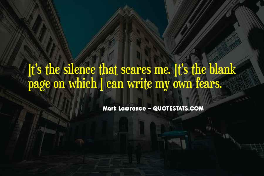 Quotes About Blank Page #812134