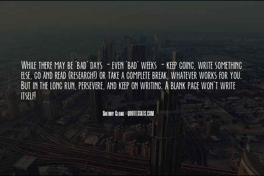 Quotes About Blank Page #889499