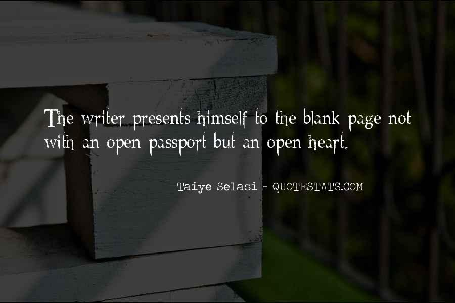 Quotes About Blank Page #916575