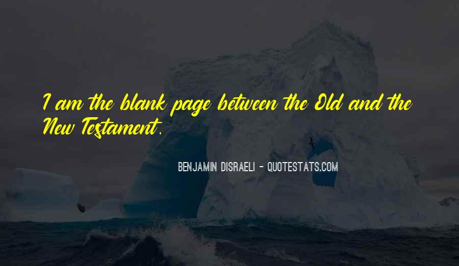 Quotes About Blank Page #923656