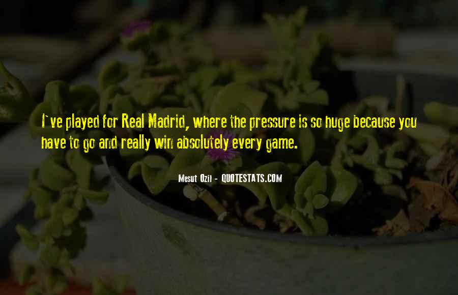 Quotes About Real Madrid #1413661