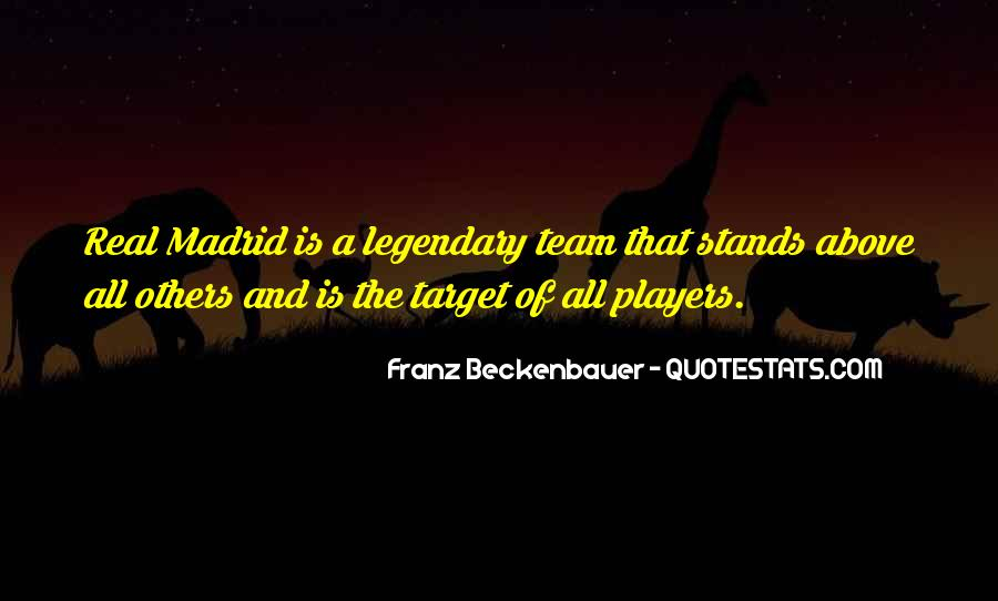 Quotes About Real Madrid #1420771