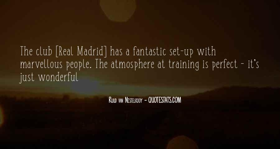 Quotes About Real Madrid #174856