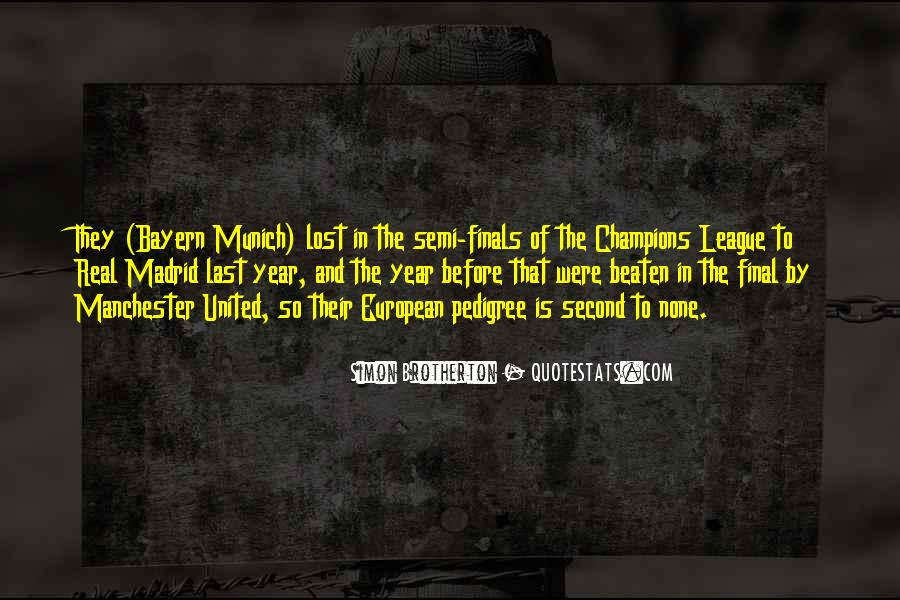 Quotes About Real Madrid #1877607