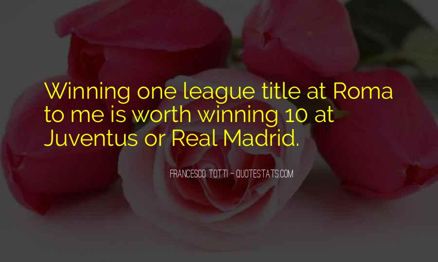 Quotes About Real Madrid #299141