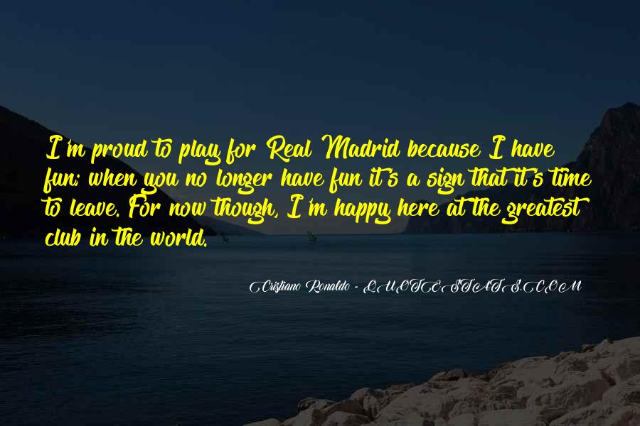 Quotes About Real Madrid #32675