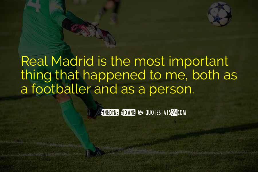 Quotes About Real Madrid #335915