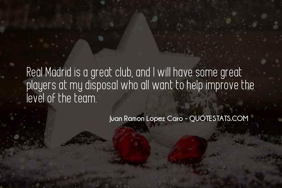 Quotes About Real Madrid #495572