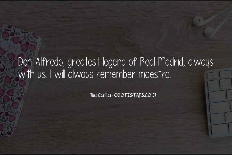 Quotes About Real Madrid #619358