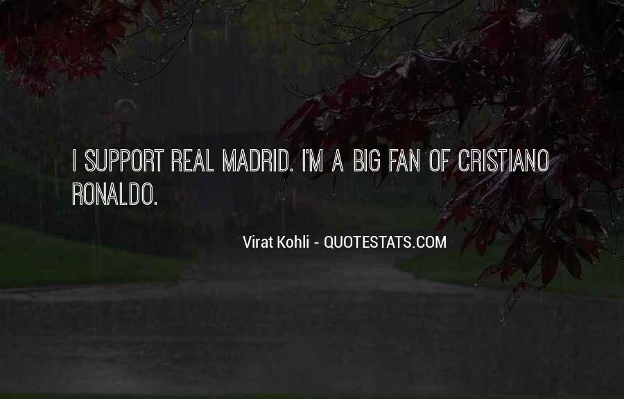 Quotes About Real Madrid #785034