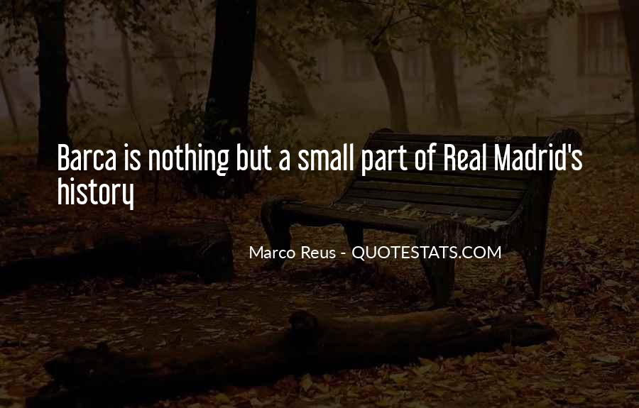 Quotes About Real Madrid #84228