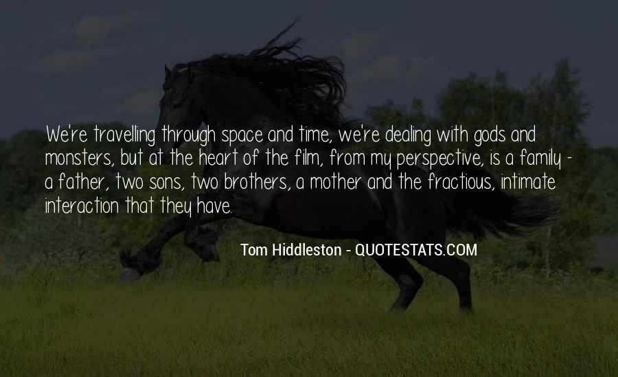 Quotes About Family Interaction #35073