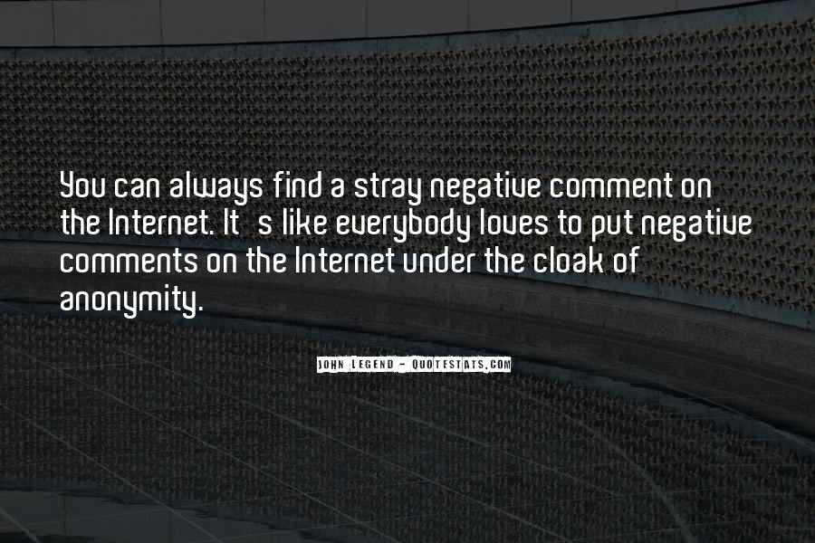 Quotes About Internet Anonymity #698161