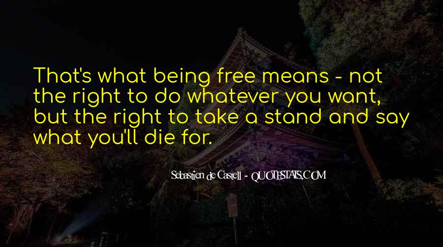 Quotes About Right To Die #245618