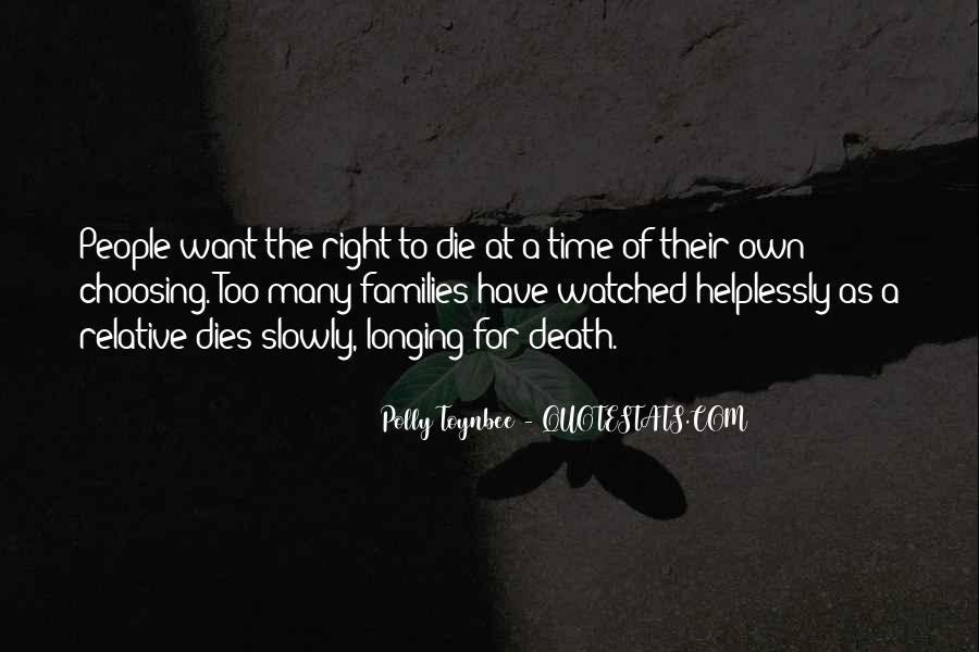 Quotes About Right To Die #277321